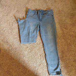 Talbots Jegging Crop Jeans